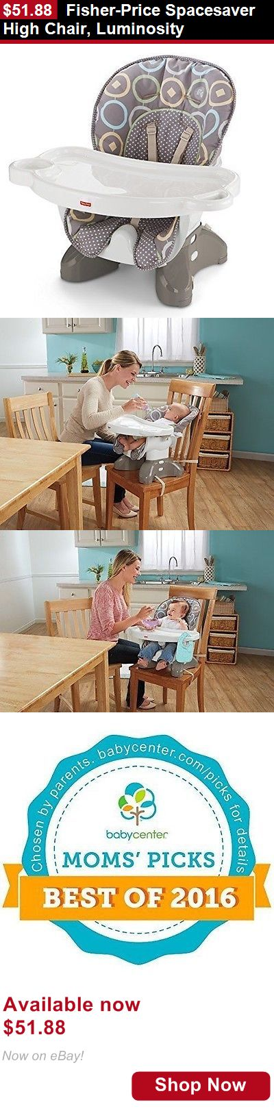 Baby High Chairs: Fisher-Price Spacesaver High Chair, Luminosity BUY IT NOW ONLY: $51.88