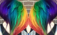 Short Rainbow - Hair Colors Ideas