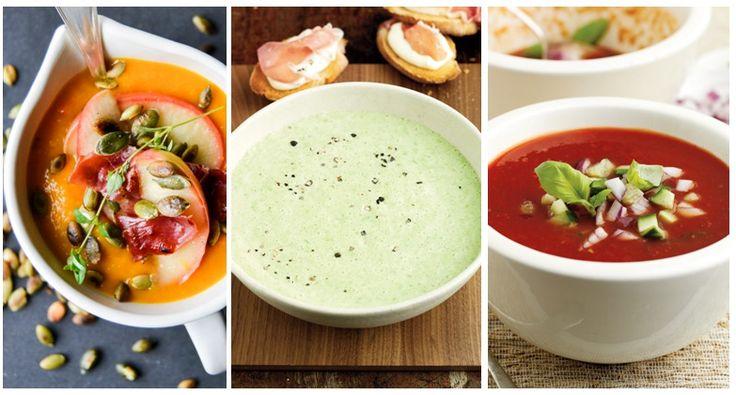 Um dos prazeres de servir sopa é termos um grande leque de possibilidade de como decorar e acrescentar sabor ao prato. Ervas aromáticas picadas, pompons de natas, croûtons estaladiços, uma colherada de molho picante, chalotas aos cubos refogadas ou até cubos de gelo, no caso das sopas frias, são algumas das opções.