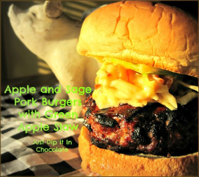 Apple and Sage Pork Burgers | Burgers and Sandwiches | Pinterest