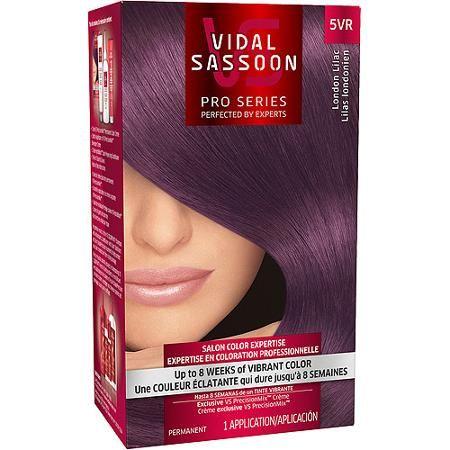 Vidal Sassoon Pro Series Hair Color, 5VR London Lilac