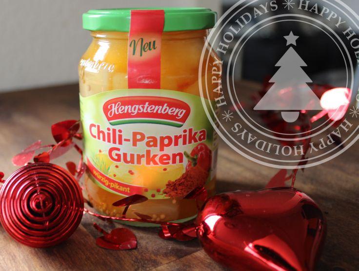Die Gurkenrevolution hat begonnen! Nach Jahrzehnten des Honig- oder Senfaufgusses - kommt jetzt die neue Chili-Paprika Gurken von Hengstenberg – die würzig-pikante Abwechslung  auf den Tisch bringt! Unnnnbedingt probieren.