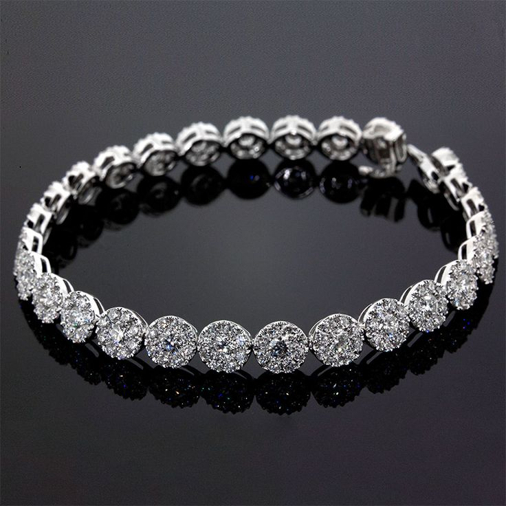 Wear The Elegance: Diamond Bracelets To Accentuate The Persona. To read more please visit here https://goo.gl/ZHM3RI