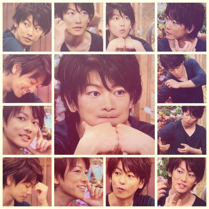 The many faces of Takeru Sato