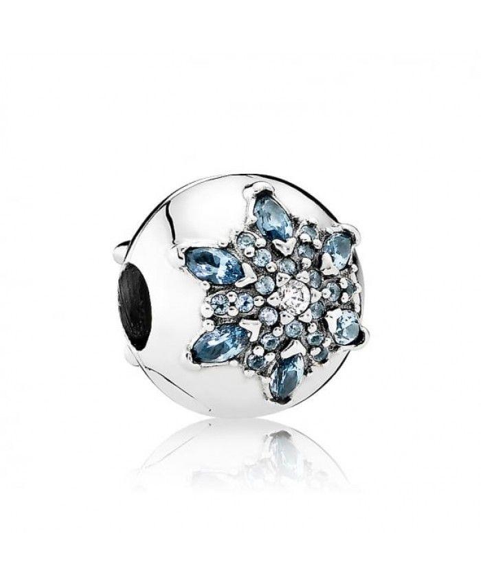 Pandora Crystalised Snowflake Clip 791997NMB UK Sale