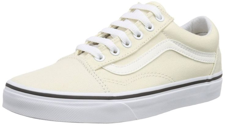 ORIGINAL Vans Old Skool, Unisex Adults' Low-Top Trainers, Beige, 7.5 UK