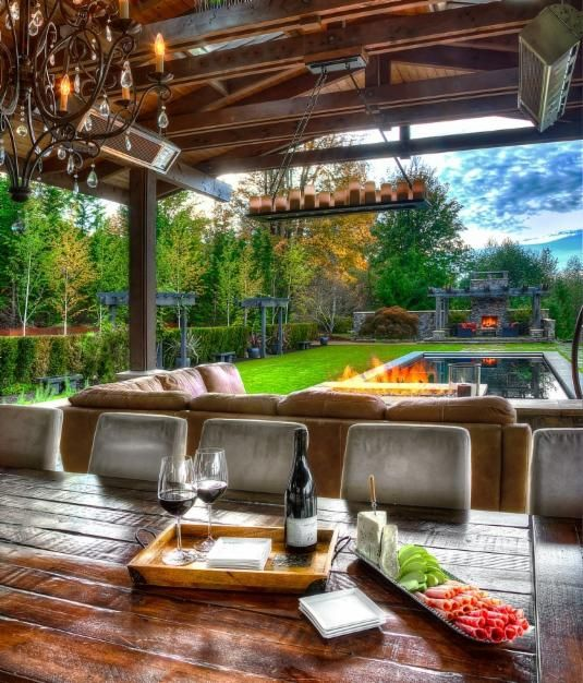 Man Cave Outside : Talk about outdoor entertaining homeinspiration