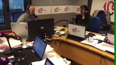 Hoy estamos celebrando el cumple de Javi Nieves y ha recibido una llamada sorpresa durante el programa... :)