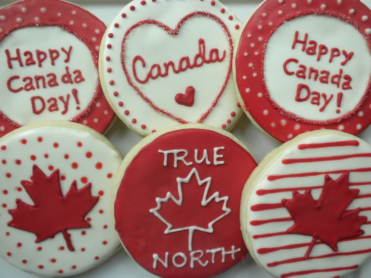 Biscuits fête du Canada /  Canada Day cookies. #CanadaDay