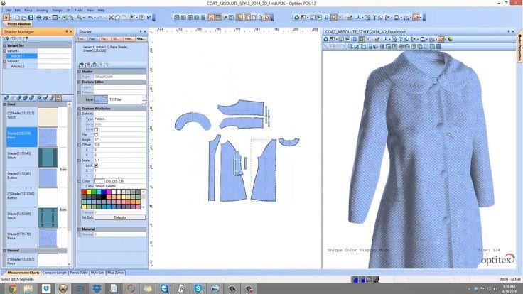 Optitex Virtual Product 3D Fashion Design Software | http://www.optitex.com/en