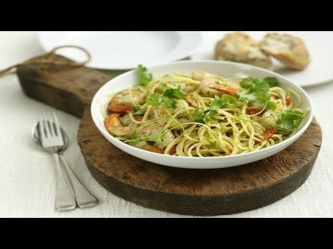 Pasta with Prawns - Marco Pierre White recipe video