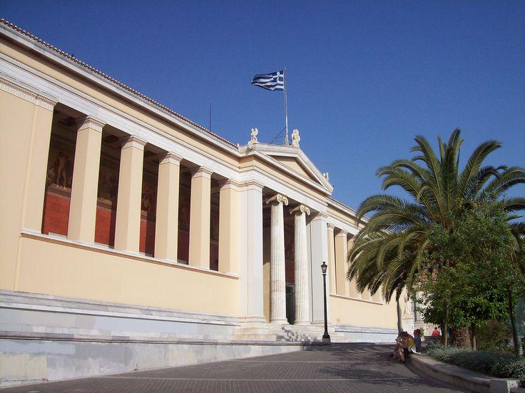 https://flic.kr/p/5h4fTb | Rectorate - Main building, National and Kapodistrian University Athens