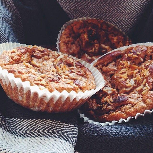 Nyttiga bananmuffins till frukost  Recept på bloggen! #Padgram
