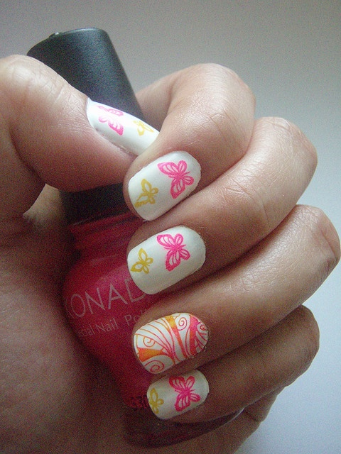 120 best Konad, Pueen and Cheeky nails! images on Pinterest   Nail ...