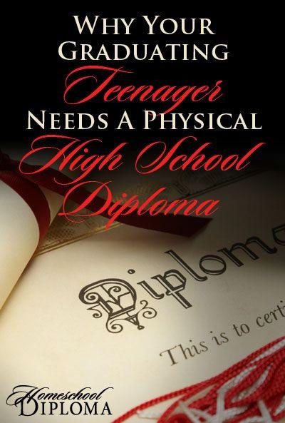 Blog :: Diplomas & Transcripts :: Why Your Graduating Teenager Needs a Physical High School Diploma