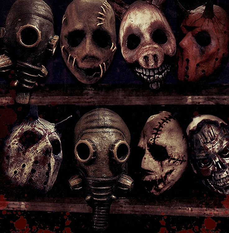 HALLOWEEN EXPRESS: Horror masks and costumes