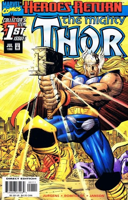 The Mighty Thor #1 (Marvel Comics; 1998 Series).