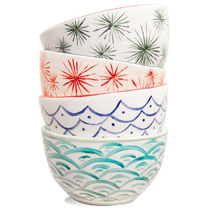 Bowls Decorados, $90 en http://ofeliafeliz.com.ar