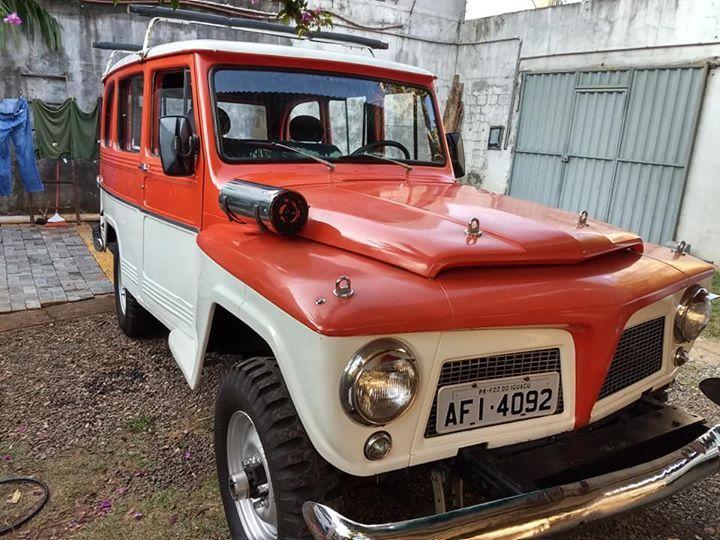 Rural Willys 4x4 Foz Do Iguacu Revenda De Carros Fotos De