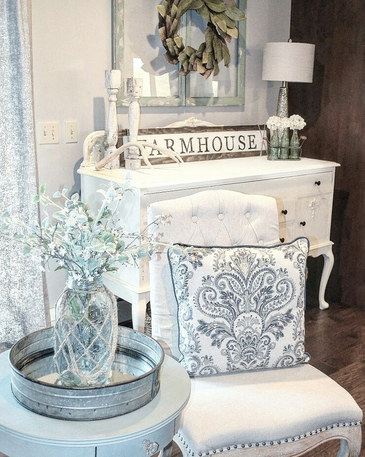 French Country Inspired Living Room