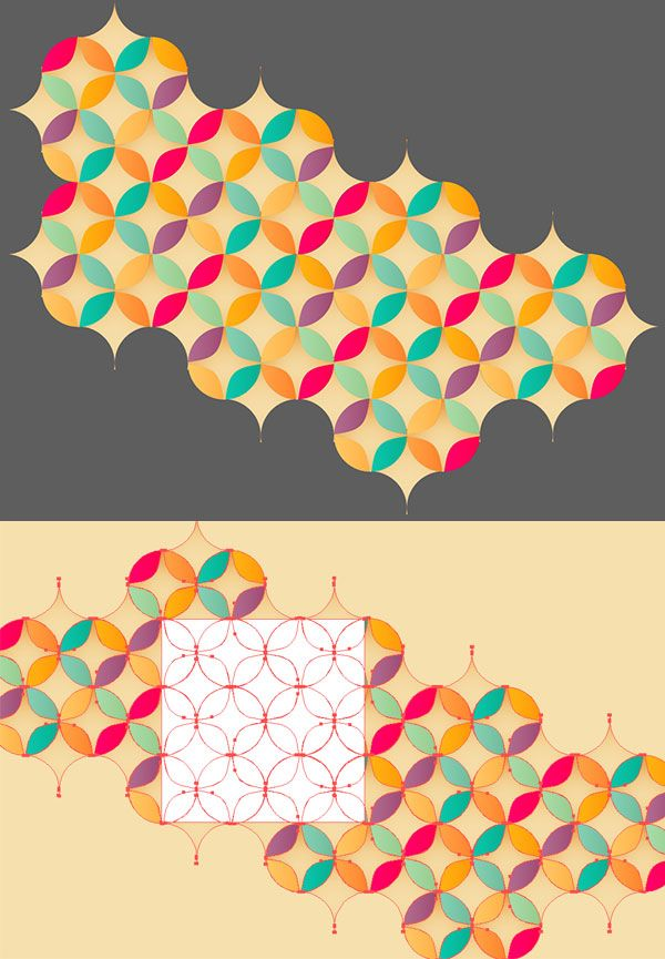How to Create a Bright Geometric Circle Pattern in Adobe Illustrator - Tuts+ Design & Illustration Tutorial