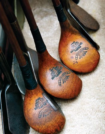 | Historic Golf Gear and Memorabilia of Golf Collectors in the Hudson Valley and Westchester, NY