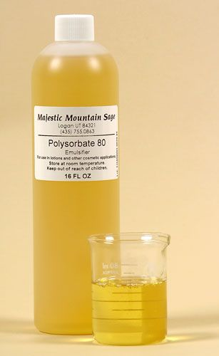 Concerns on Using Polysorbate 80 in Vaccines