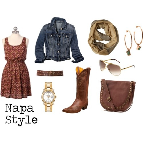 Napa style outfit