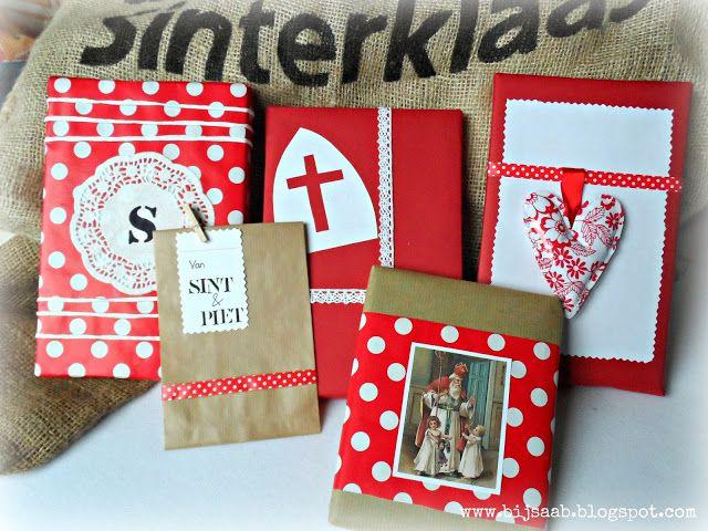 Bij Saab: Sinterklaas packaging