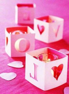 2014 Valentine's day wedding decoration, Valentine's day wedding table decor, Valentine's day wedding candle decor