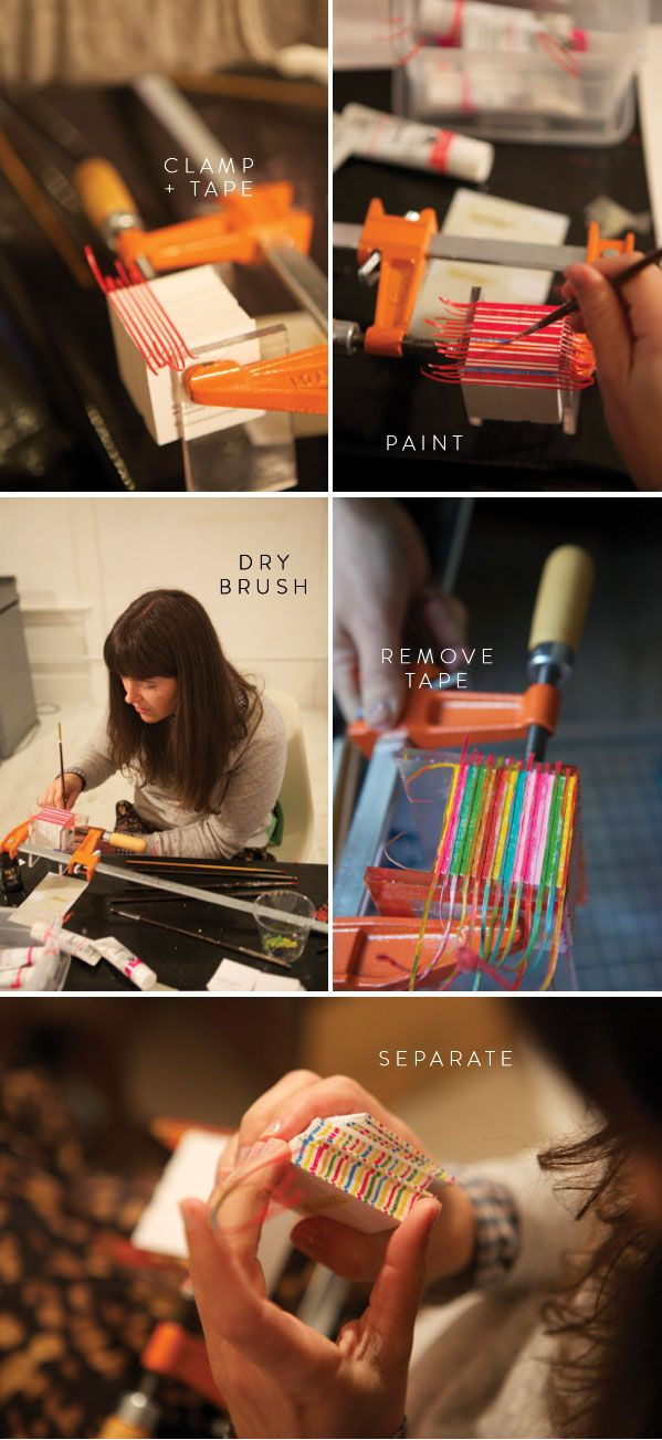 How to Edge Paint   Oh Happy Day - labor of love for great design