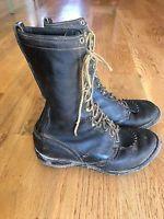 WESCO West Coast Shoe Company CALK BOOTS 8.5 Men's Lace Up Logging Cork Boots