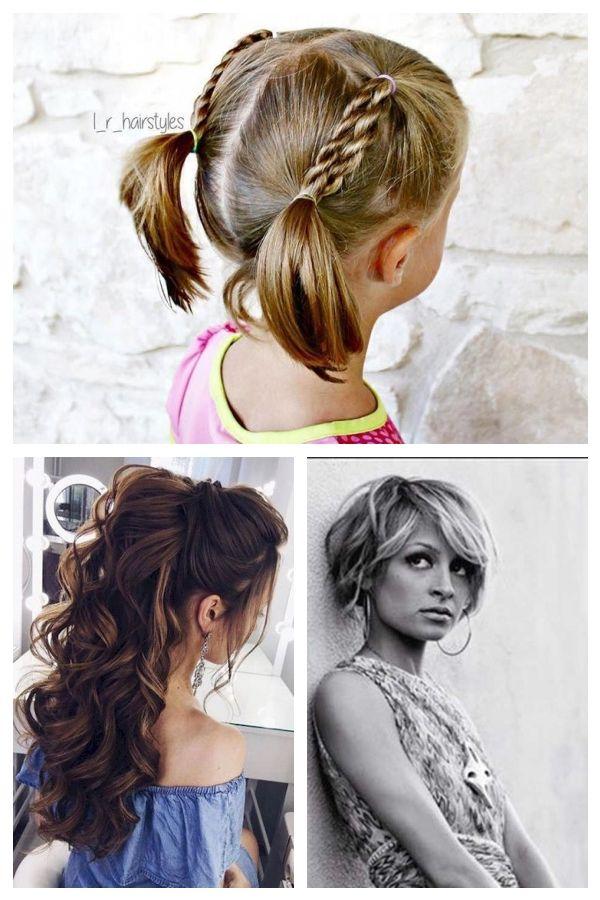 Neue Frisur Fur Madchen Einfache Frisuren Fur Kinder Mit Kurzen Haaren Kurze Haare Kurzefrisuren Einfache Frisur Frisuren Fr Hair Styles Beauty Hair
