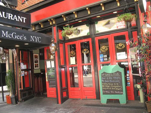 McGee's Pub, NYC, the inspiration for MacLaren's Pub in ...
