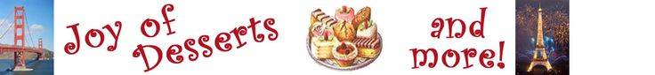 Joy of Desserts Blog. Has great recipes and blog hops during the week.