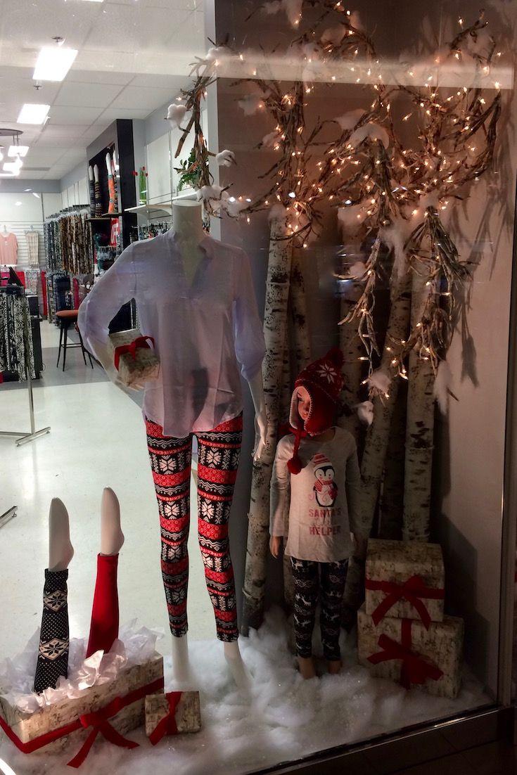 Fun Fashions Westshore Centre Christmas 2016 funfashions.com PropaganZa Visual Display & Design