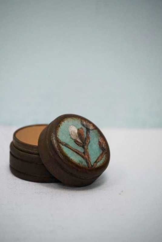 Pussy willow pill box by Mmim on Etsy, $4.75