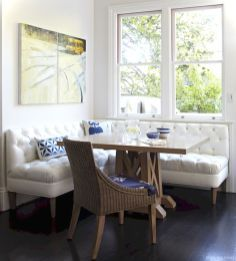 Awesome banquette seating ideas for your kitchen 18