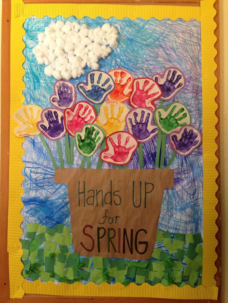 STUDENTS will be able to identify and tell what happens during the season of spring by completing this activity for the bulletin board.
