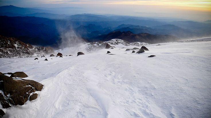Pico de Orizaba, Veracruz, México.