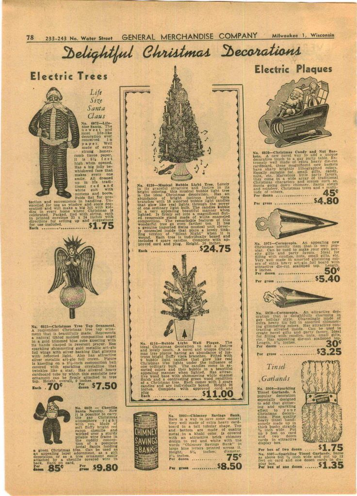 Sears Christmas Decorations