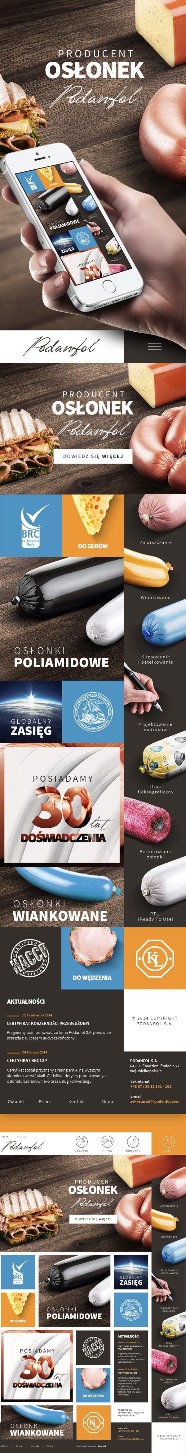 Podanfol Casings Manufacturer by Paweł Skupień, via Behance