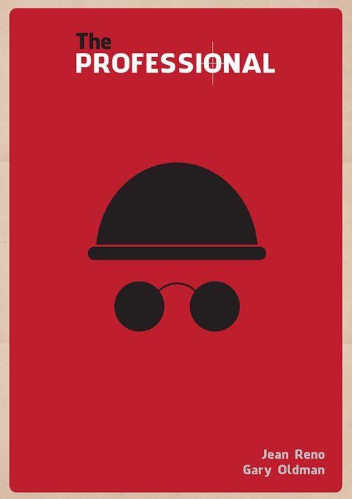 Leon Minimal Alternative Movie Posters
