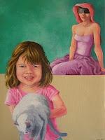 Oil painting - Paula Dias