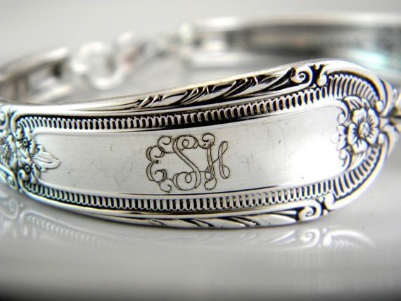 1. something vintage [[personalized spoon bracelets for the bridesmaids]] #modcloth #wedding