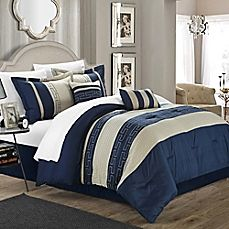 image of Chic Home Coralie 6-Piece Comforter Set