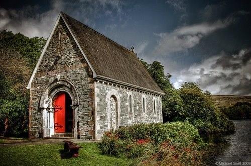 St Finbars Oratory, Gouganne Barra, Co.Cork, Ireland