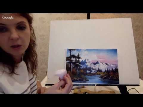 Живопись. Снежные зарисовки. 9-й день онлайн-мероприятия «Живопись. Снежные зарисовки» Катарина Ерлина и Ирина Шпакова