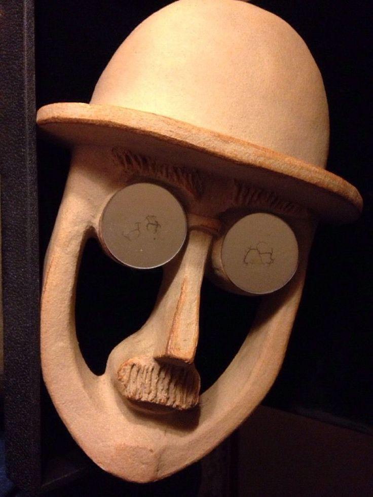 Pottery Mask By Bennington Pottery In Bennington Vermont | eBay
