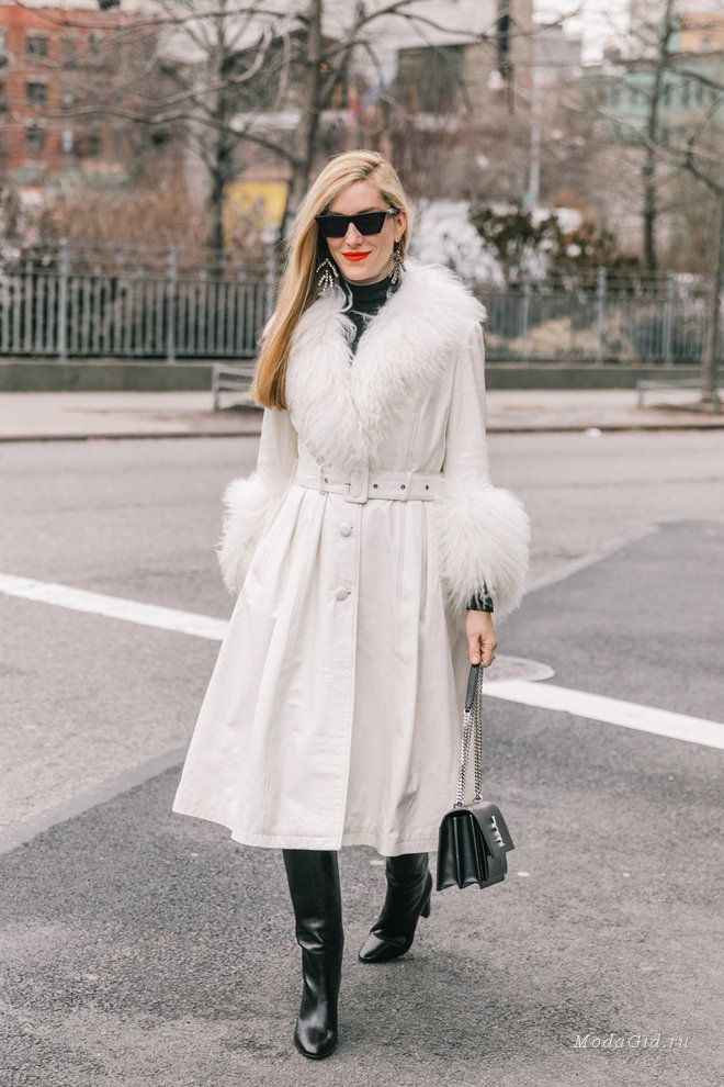 Уличная мода  Стритстайл на неделе моды в Нью-Йорке сезона осень-зима 2018- 2019   Fall Winter Outfit in 2018   Pinterest   Street style, Style and  Street 6899c65adfb